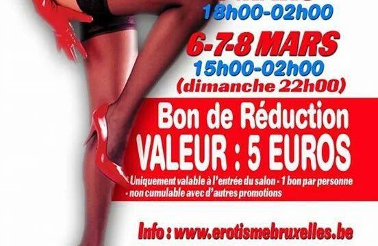 Salon de bruxelles 5 6 7 8 Mars 2015!