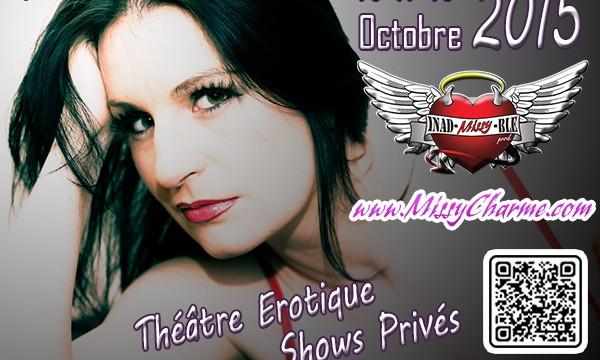 Salon de l'érotisme de Malines 16 17 18 octobre 2015