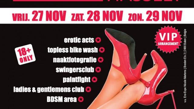 Salon de l'érotisme Hasselt 27 28 29 Novembre 2015